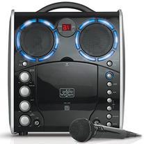 Singing Machine SML-383 Portable CDG Player Karaoke Machine