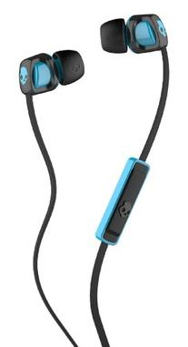 Skullcandy Smokin' Buds 2 with Mic1, Black/Hot Blue