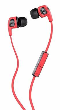 Skullcandy Smokin' Buds 2 Earbuds with Mic Hot Red/Black,