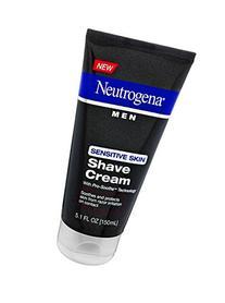 Neutrogena Men Pro-Smoothe Sensitive Skin Shave Cream, 5.1