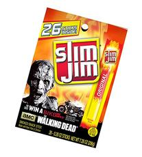Slim Jim Snack Sticks, Original, .28 Ounce, 26 Sticks