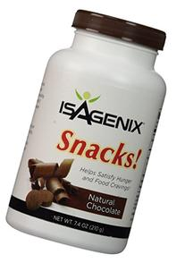 Isagenix Snacks Natural Chocolate Nt. Wt. 7.4 Oz  60