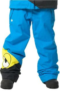 686 Snaggleface Insulated Snowboard Pant Blue L -Kids