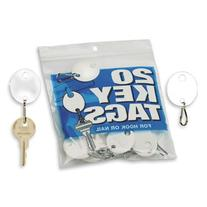 MMF Industries Snap-Hook Key Tags, Plastic, 1.25 Inches
