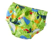 i play. Baby Boys' Snap Reusable Absorbent Swim Diaper, Lime