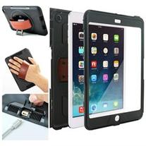 Snap Rotating Case + Hand Strap for iPad Mini 4