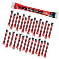 Cyalume SnapLight Red Light Sticks - 6 Inch Industrial Grade