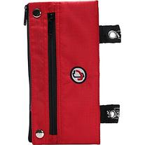 Case-it The Snapper Pencil Case with Grommets, Red, PLP-03-