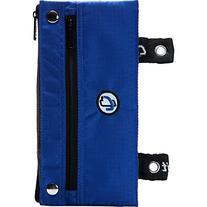 Case-it The Snapper Pencil Case with Grommets, Blue, PLP-03-