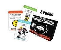 Sneaky Cards Card Game Value Bundle 2 Pack With Smartphone