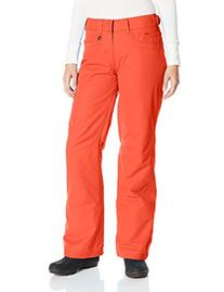 Roxy SNOW Juniors Backyards Snow Pant, Hot Coral, X-Large