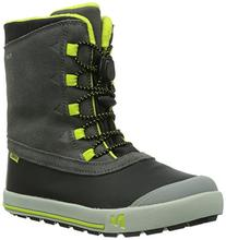 Merrell Snow Bank Waterproof Boot ,Grey/Lime,11 M US Little