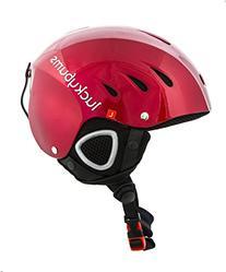 Lucky Bums Snow Sport Helmet, Metallic Black, X-Large