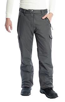 Arctix Men's SnowSports Cargo Pants, Charcoal, Small
