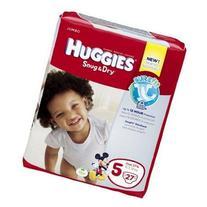Huggies Snug and Dry Diapers, Size 5, Jumbo, 25 ct