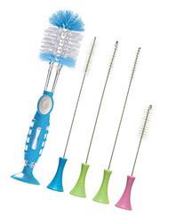 Munchkin Soap Dispensing Bottle Brush with Cleaning Brush