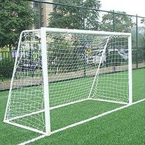 12x6ft Full Size Football Soccer Goal Post Net Sports Match