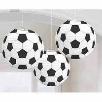 Soccer Paper Lanterns