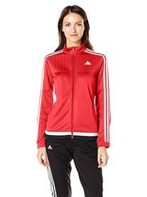 adidas Women's Soccer Tiro 15 Training Jacket, Power Red/