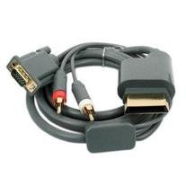 SODIAL New VGA Component Audio Cable & 2RCA For Xbox 360