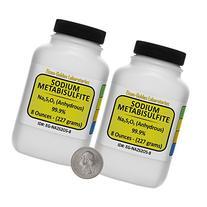 Sodium Metabisulfite  99.9% ACS Grade Powder 1 Lb in Two
