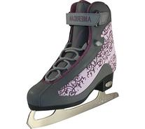 American Athletic Shoe Women's Soft Boot Figure Skates, Grey