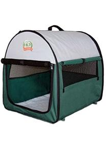 Go Pet Club Soft Crate for Pets, 32-Inch, Green