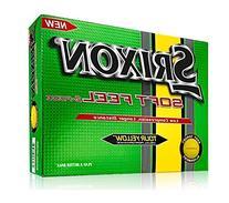 Srixon Men's Soft Feel Golf Ball , Tour Yellow