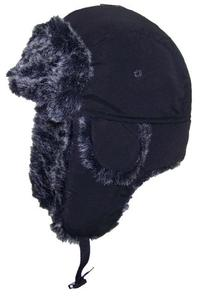 City Hunter Soft Nylon Russian/Trapper/Trooper Winter Hat -