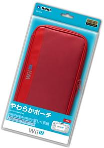 Soft Pouch for Wii U Gamepad Red