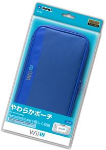 Soft Pouch for Wii U Gamepad Blue