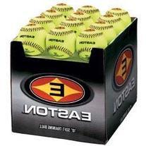 "Easton 12"" Neon Softouch Training Balls"