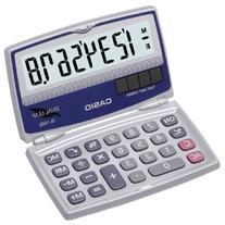 Solar Calculator with Folding Hard Case - CASIO