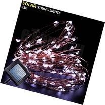 Solar Copper Wire lights Fairy String,eTopxizu 10M/33Ft
