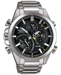 G-Shock Men's Solar Edifice Stainless Steel Bracelet Watch