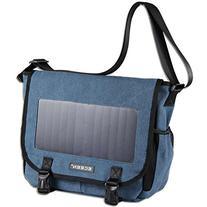 Solar Message Bag, Single Shoulder Bags Pack with Voltage