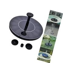 Solar Power Bird Bath Fountain,SOONHUA Solar Panel Water