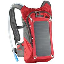ECEEN Hydration Backpack with 7 Watts Solar Panel Charger