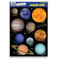 Solar System Peel 'N Place Party Accessory