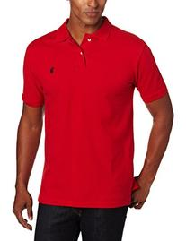 U.S. Polo Assn. mens Classic Polo Shirt , Engine Red, Large