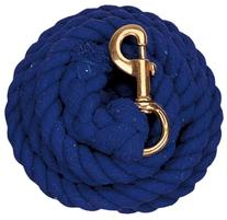 Weaver Leather Solid Color Cotton Lead Rope with Solid Brass