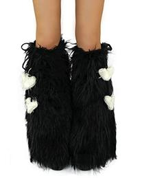 iHeartRaves Solid Fluffy Leg Warmers - Rave GoGo Fluffies