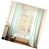 Carousel Designs Solid Icy Mint Drape Panel 84-Inch Length