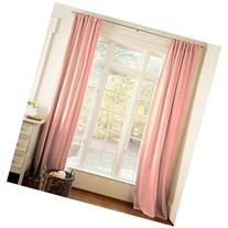Carousel Designs Solid Light Coral Drape Panel 84-Inch