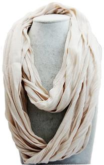 Women/men 170cm*50cm Solid Soft Touch Infinity Loop Cowl