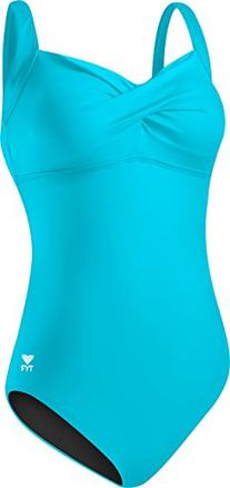 Tyr Solids Twisted Bra Controlfit, Blue, Size 8