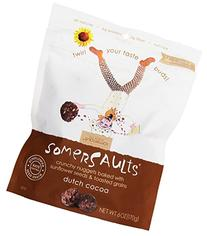 Somersaults Crunchy Nuggets, Dutch Cocoa, 6 Ounce