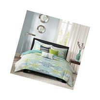 Madison Park Sonali 6 Piece Quilted Coverlet Set, King/