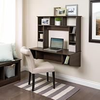 Prepac EEHW-0800-1 Sonoma Floating Desk, Espresso