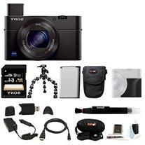 Sony DSC-RX100M III Cyber-shot Digital Camera with Sony